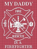 My Daddy is a Fire Fighter Maltese Cross Baby Crochet Pattern Graph e-mailed.pdf #359